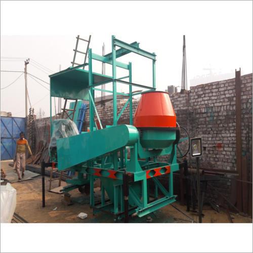 Four Pole Lift Concrete Mixer