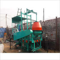 Four Pole Lift Concrete Mixer