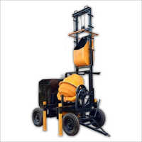 Two Pole Lift Concrete Mixer