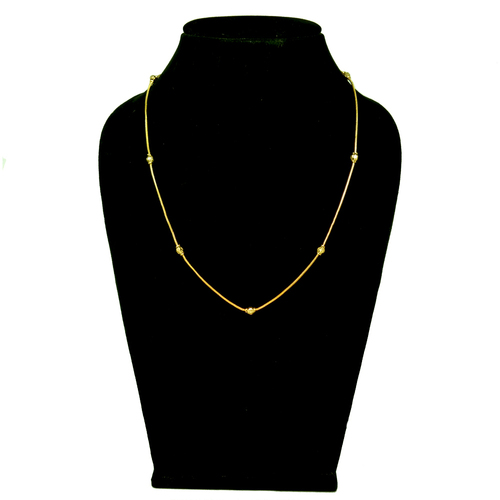 Simple new Design gold plating chain
