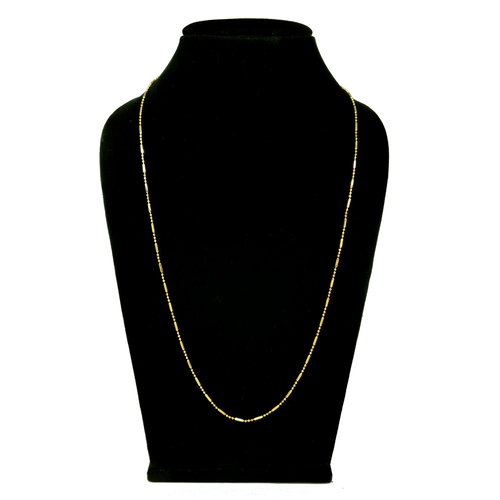 Attractive Simple Gold plating long chain
