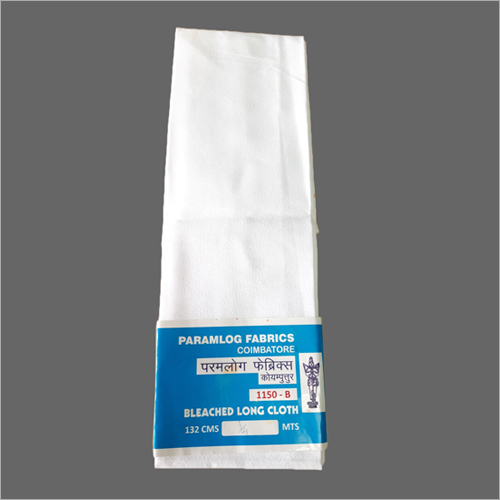 100% Cotton Bleached drill fabric 14s x 14s, 50 inch, 300 gm/meter