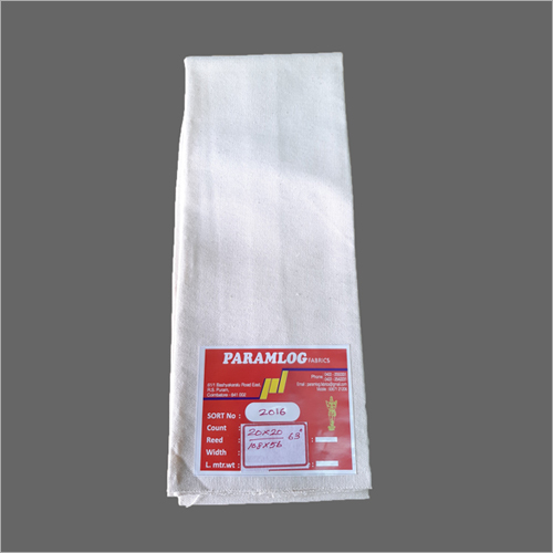 100% Cotton drill fabric 20s x 20s, 63 inch, 335 gm/meter