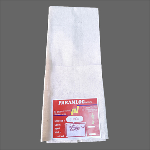 100% Cotton sheeting fabric 20s x 20s, 50 inch, 195 gm/meter