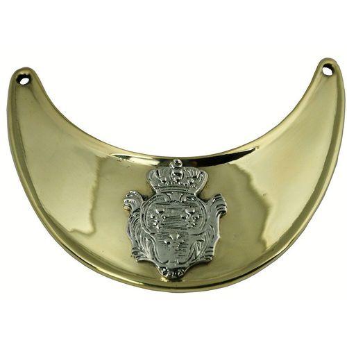 Modern Brass Gorget