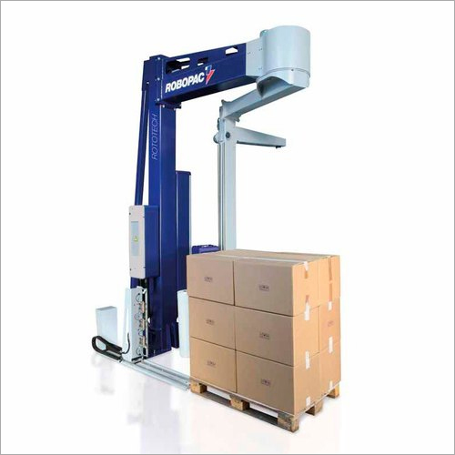 Semi Automatic Arm Type Pallet Stretch Wrapping Machine