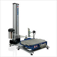 Automatic Stretch Wrapping Machine With Rotating Table