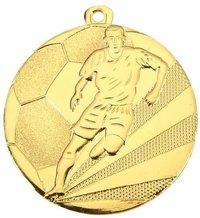 Footballer Brass Medal