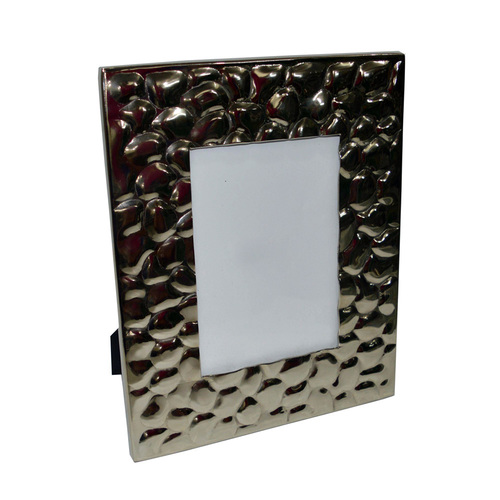 Aluminum Hammered Photo Frame