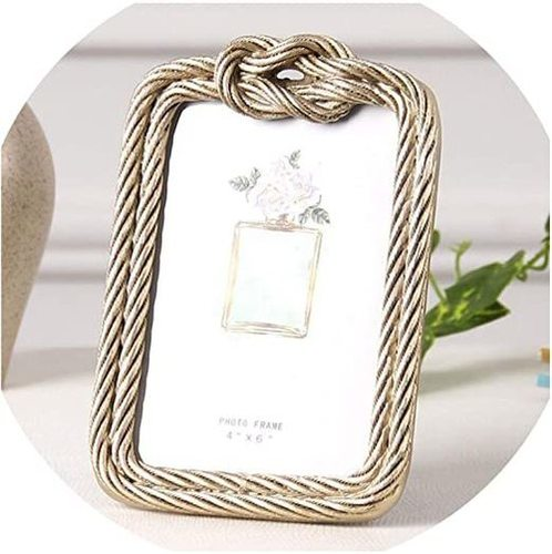 Aluminum Rope Design Photo Frame