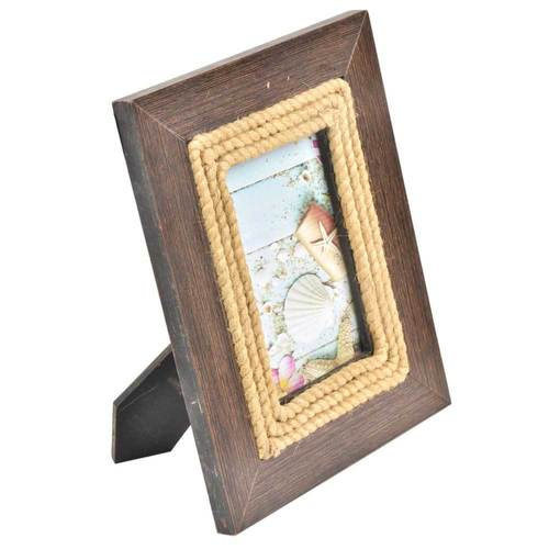 Rope on Wooden Photo Frame