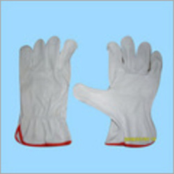 Lining Leather Driving Gloves