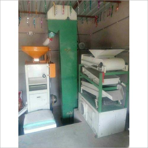 Automatic Mini Rice Mill Plant