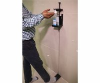 FOOT OPERATED SANITIZER DISPENSER WALL MOUNTED