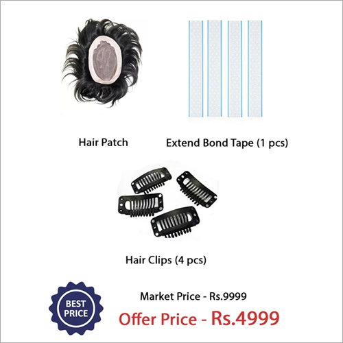 Clip On Hair Patch Kit