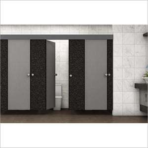 Athena Lite Wall Mounted Restroom Cubicle System