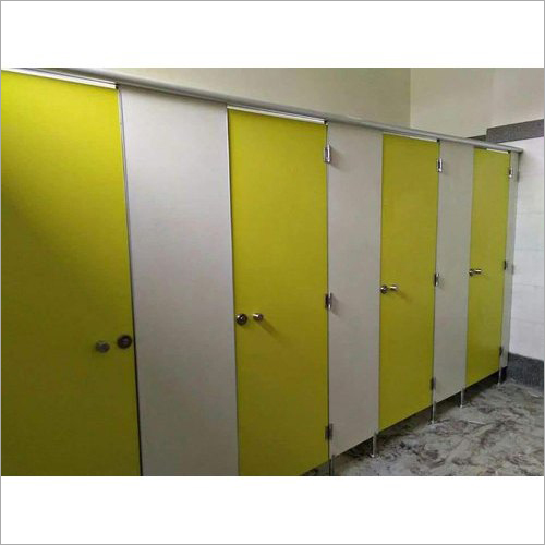 HPL Board Modular Toilet Cubicle