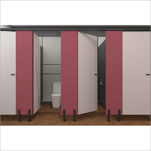 Bacchus Floor Mounted Restroom Cubicle Systems