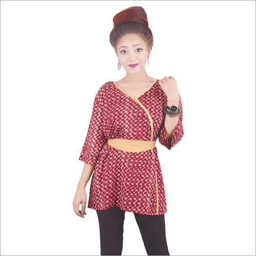 Printed Fancy Short Kurti