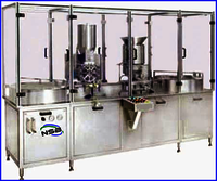 Powder Filling Rubber Stoppering and Sealing Machine