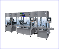 Liquid Filling Rubber Stoppering and Sealing Machine