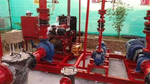 Fire Pump installation