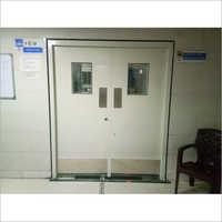Powder Coated Hospital Door