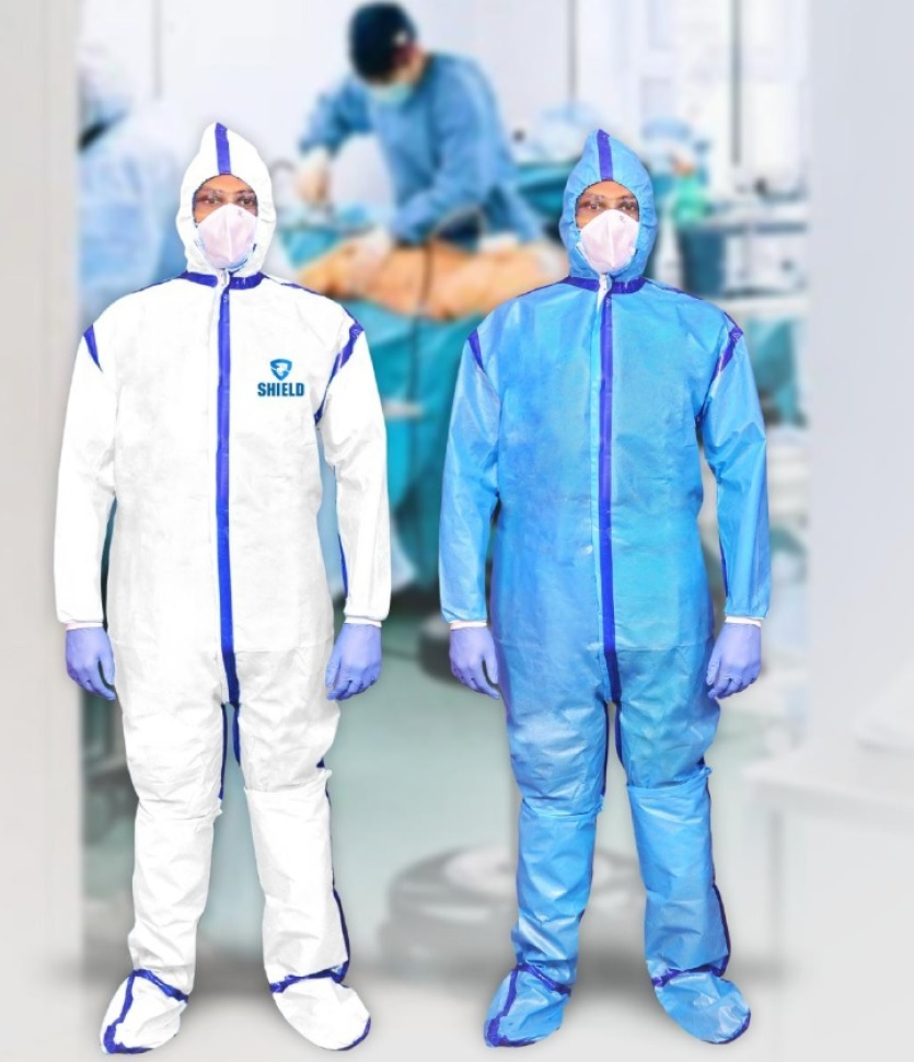 PPE Kit with Coverall & Ultra Coverall ( AAMI Level 4 & ASTM )