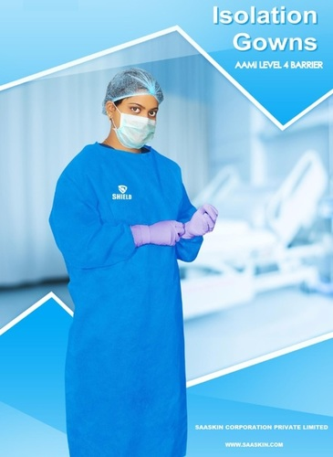 Isolation Gown ( AAMI Level 4 & ASTM )