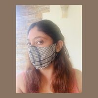 Reusable Cotton Face Mask with Adjustable Ear Loop