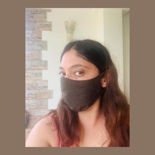 Black Reusable Cotton Face Mask
