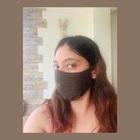 black reusable cotton face mask