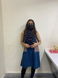 Scarf Mask. Reusable And Washable