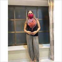 Designer scarf mask