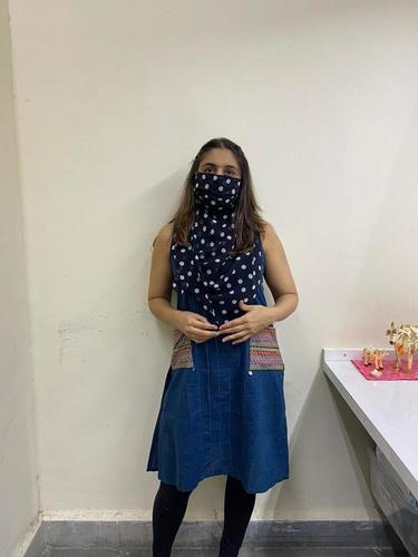 Printed Scarf Mask