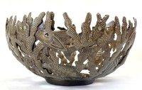 Aluminum Bowl Fish Design