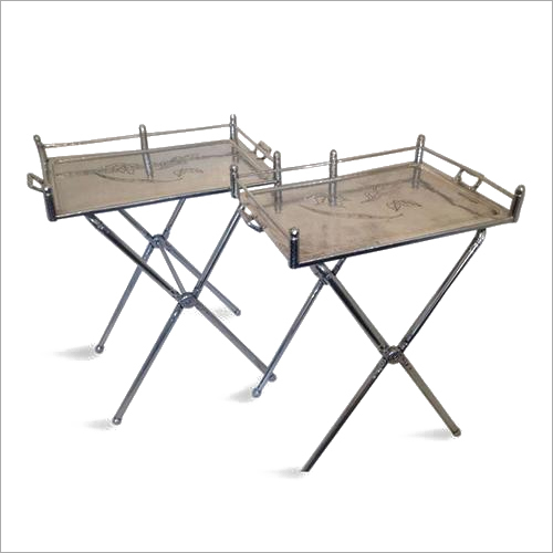 Aluminum Trays with Folding Stand