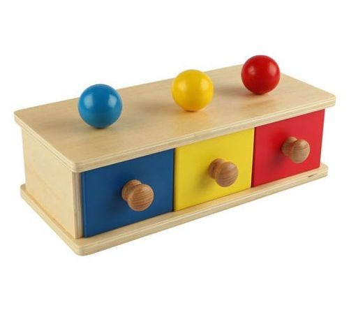 Bins Wooden Educational Toys