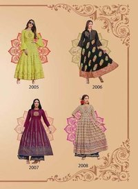 Fashion Colorbar Vol-2 Kajal Style Print Embroidery Kurtis