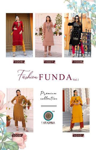 Fashion Funda Vol-1 Wholesale Pant Kurti