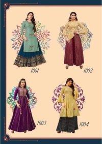 Fashion Holic Vol-1 Reva Silk Kurtis Catalogue
