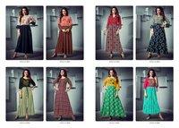Fashion Season Rayon Print Ladies Kurti
