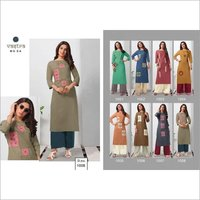 Fashion Vol-1 Vastra Moda Aplique Work Kurti