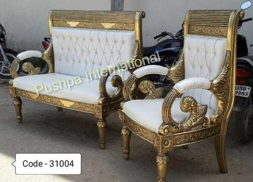 Brass Fitting Sofa Set