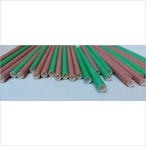 Duel Color Paper Straw