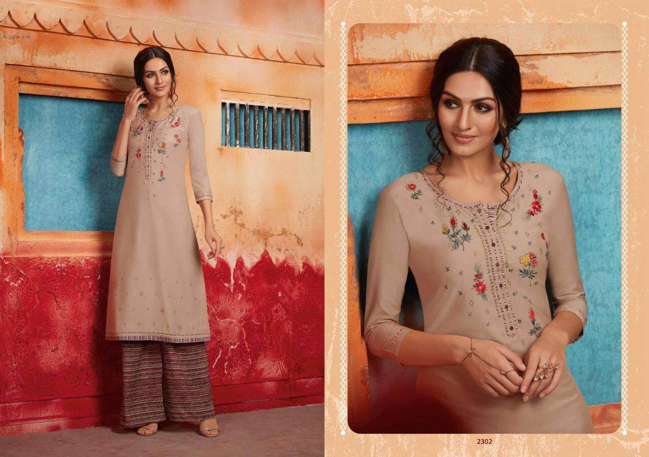 First Look Rangoon Swarovski Work Palazzo Kurti