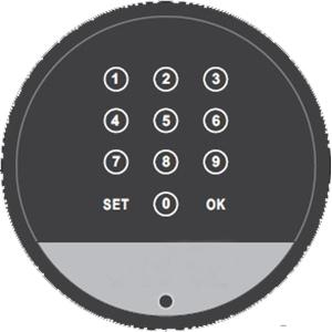 Cabinet Digital Password Lock