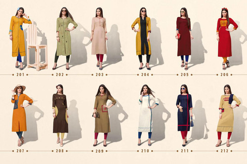 Flora Leher Fashion Launched Reyon Print Kurti