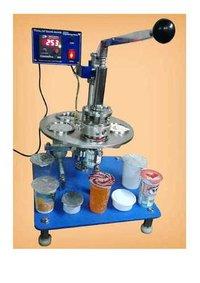 Manual Rotary Cup Sealing Machine