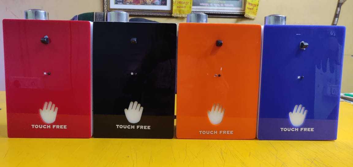 Touch Free Automatic Liquid Sanitizer Dispenser 1Ltr